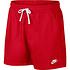 Nike Freizeit- und Badeshorts 2er Set Schwarz/Rot (5)