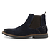 TRAVELIN OUTDOOR Boot Glasgow Suede Chelsea blau (5)