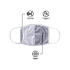 Forever Collectibles Green Bay Packers Mund-Nase Maske 3er Pack grün (5)