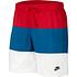 Nike Freizeit- und Badeshorts 3S 2er Set Schwarz/Rot (5)