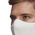 Adidas 6er Set Mund-Nase Maske Erwachsene Weiß (5)