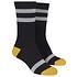 URBAN CLASSICS Socken Multicolor schwarz/gelb/weiß (5)