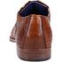 Bugatti Businessschuh Glattleder cognac (5)