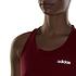Adidas Muskelshirt Core Linear Damen rot (5)
