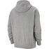 Nike Hoodie Club Uni Grau (2)