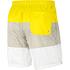 Nike Freizeit- und Badeshorts 3S Gelb/Grau/Weiß (2)