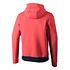 Nike Hoodie Sportswear Club Fleece Rot/Blau (2)