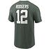 Nike Green Bay Packers T-Shirt Player Rodgers 12 grün (2)