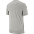 Nike T-Shirt Klassik Grau/Schwarz (2)