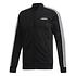 Adidas Trainingsanzug 3 Streifen Schwarz (2)