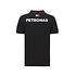 Mercedes AMG Petronas Team Poloshirt 2020 schwarz (2)