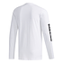 Adidas Langarmshirt BRAND Weiß (2)