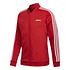 Adidas Trainingsanzug 3 Streifen Rot (2)