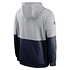 Nike New England Patriots Hoodie Team Lockup Therma grau/college navy (2)