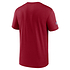 Nike San Francisco 49ers T-Shirt Team Name Sideline rot (2)