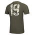 New Era Green Bay Packers T-Shirt Camo Injection grün (2)