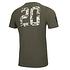 New Era NFL Shield T-Shirt Camo Injection grün (2)