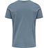 hummel T-Shirt Duncan Bio-Baumwolle china blue (2)