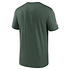 Nike Green Bay Packers T-Shirt Team Name Sideline grün (2)