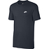 Nike T-Shirt CLUB Futura 3er Set Dunkelblau/Blau/Grau (2)