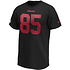 Fanatics San Francisco 49ers T-Shirt Iconic N&N Kittle No 85 schwarz (2)
