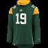 Fanatics Green Bay Packers Hoodie Overhead dunkelgrün/gelb (2)