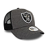 New Era Las Vegas Raiders Cap Shadow Tech Trucker grau (2)