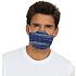 5er Set Mund-Nase Maske Uni Blau (2)