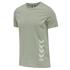hummel 3er Set T-Shirt Duncan Bio-Baumwolle china blue/weiß/vetiver (2)