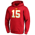 Fanatics Kansas City Chiefs Hoodie Iconic N&N Mahomes No 15 rot (2)