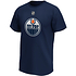 Fanatics Edmonton Oilers T-Shirt Iconic N&N Draisaitl No 29 navy (2)