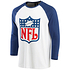 Fanatics NFL Shield T-Shirt True Classics 3/4 weiß (2)