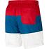 Nike Freizeit- und Badeshorts 3S Rot/Blau/Weiß (2)