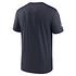 Nike Chicago Bears T-Shirt Team Name Sideline marine (2)