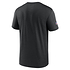 Nike Pittsburgh Steelers T-Shirt Team Name Sideline schwarz (2)