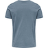 hummel 2er Set T-Shirt Duncan Bio-Baumwolle china blue/vetiver (2)
