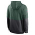 Nike Green Bay Packers Hoodie Team Lockup Therma tanne/grau (2)