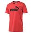 Puma T-Shirt ESS 2er Set Blau/Rot (2)