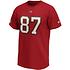 Fanatics Tampa Bay Buccaneers T-Shirt Iconic N&N Gronkowski No 87 rot (2)