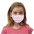 3er Set Mund-Nase Maske Mädchen Einhorn Rosa (2)