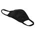 URBAN CLASSICS 4er Set Mund-Nase Maske Erwachsene Blanko schwarz (2)