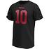 Fanatics San Francisco 49ers T-Shirt Iconic N&N Garoppolo No 10 schwarz (2)
