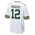 Nike Green Bay Packers Trikot Away Game Rodgers weiß (2)
