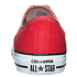 CONVERSE Sneaker Chuck Taylor All Star Core OX rot/weiß (2)