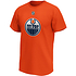 Fanatics Edmonton Oilers T-Shirt Iconic N&N Draisaitl No 29 orange (2)