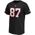 Fanatics Tampa Bay Buccaneers T-Shirt Iconic N&N Gronkowski No 87 schwarz (2)