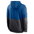 Nike Indianapolis Colts Hoodie Team Lockup Therma blau/anthrazit (2)