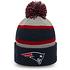 New Era New England Patriots Beanie Striped Cuff Knit blau (2)