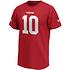 Fanatics San Francisco 49ers T-Shirt Iconic N&N Garoppolo No 10 rot (2)