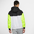 Nike Kapuzenjacke Windrunner Weiß/Schwarz/Neon (2)